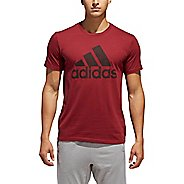 Mens Adidas Badge Of Sport Classic Tee T-Shirt Short Sleeve Technical Tops