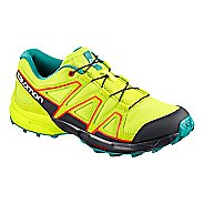 Kids Salomon Speedcross Trail Running Shoe - Acid Lime 2Y