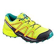 Kids Salomon Speedcross Trail Running Shoe - Acid Lime 4Y
