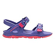 Merrell Hydro Drift Sandals Shoe - Purple/Coral 7Y