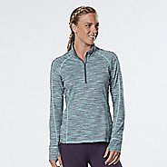 Womens R-Gear Ready To Go Half-Zips & Hoodies Technical Tops - Grey Mist/Sea Glass XL