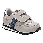 Kids Saucony Baby Jazz Hook and Loop Casual Shoe - Grey/Navy 10C