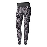Womens Adidas D2M Long -Boost Print Compression Tights