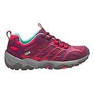 Kids Merrell Moab FST Low WTRPF Trail Running Shoe - Berry 3.5Y