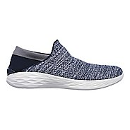 Womens Skechers YOU Casual Shoe - Navy 8