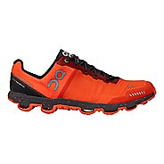 Mens On Cloudventure Peak Trail Running Shoe - Flame/Shadow 8