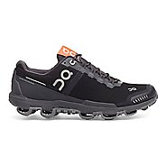 Mens On Cloudventure Waterproof Trail Running Shoe - Black/Dark 9.5
