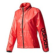 Womens Adidas Linear Windbreaker Cold Weather Jackets