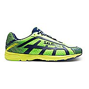 Mens Salming Distance D5 Running Shoe - Green Gecko 11.5