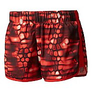 Womens Adidas M10 Printed -Boost Print Lined Shorts