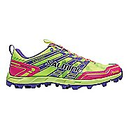 Womens Salming Elements Trail Running Shoe - Safety Yellow/Pink 7.5