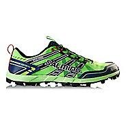 Mens Salming Elements Trail Running Shoe - Green Gecko/Navy 8