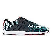 Mens Salming Race 5 Running Shoe - Ceramic Green 11