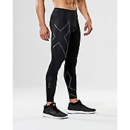 Mens 2XU Elite MCS G2 Compression Tights - Black/Nero XS