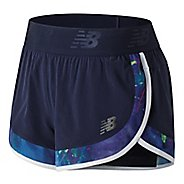 Womens New Balance Transform 2-in-1 Shorts - Blue Pigment S
