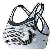 Womens New Balance NB Pulse Sports Bras - White L