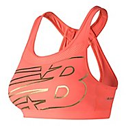 Womens New Balance NB Pulse Sports Bras - Fiji M