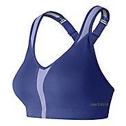Womens New Balance NB Power Sports Bras - Blue Iris 34-D