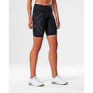 Womens 2XU Elite MCS G2 Compression & Fitted Shorts - Black/Nero L