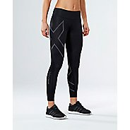 Womens 2XU Elite MCS G2 Compression Tights - Black/Nero XXS