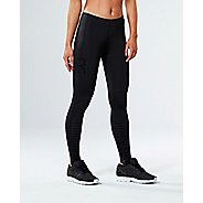 Womens 2XU Elite Power Recovery Compression Tights - Black/Nero M