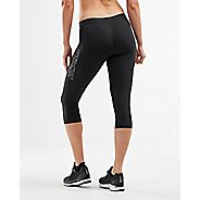 Womens 2XU Core 3/4 Compression Tights