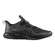 Mens adidas AlphaBounce AMS Running Shoe - Black 10.5