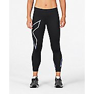 Womens 2XU Core Compression 7/8 Crop Tights