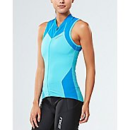 Womens 2XU X-VENT Multisport Tri Singlet Sleeveless & Tank Tops Technical Tops