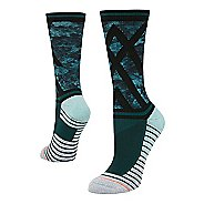 Womens Stance Athletic Precision Crew Socks - Teal S