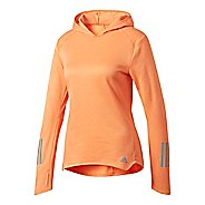 Womens Adidas Response Astro Hoodie Long Sleeve Technical Tops