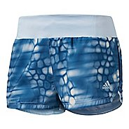 Womens Adidas Supernova Glide Boost Print Lined Shorts