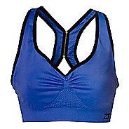 Womens Zensah Gazelle Sports Bras - Electric Purple S