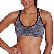 Womens Zensah Racey Sports  Bras - Heather Grey L