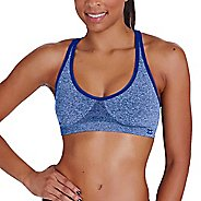 Womens Zensah Racey Sports  Bras - Amparo Blue M