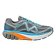 Mens MBT GT 17 Running Shoe - Grey/Blue/Orange 10.5