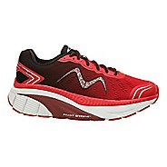 Mens MBT Zee 17 Running Shoe - Red/Black 10.5