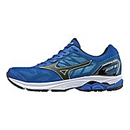 Mens Mizuno Wave Rider 21 Running Shoe - Green Slime/Gecko 9.5