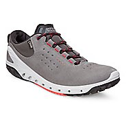 Womens Ecco BIOM Venture GTX Leather Casual Shoe - Dark Shadow 36