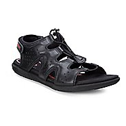 Womens Ecco Bluma Toggle Sandals Shoe - Black 40