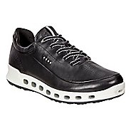 Womens Ecco Cool 2.0 GTX Leather Casual Shoe - Black 38