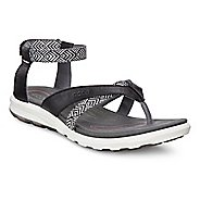 Womens Ecco Cruise Sport Sandals Shoe - Black 38