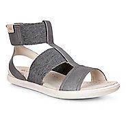 Womens Ecco Damara Ankle Strap Sandals Shoe - Dark Shadow 7.5