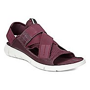 Womens Ecco Intrinsic Sandals Shoe - Bordeaux 37
