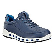 Mens Ecco Cool 2.0 Leather GTX Casual Shoe - True Navy 42