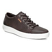 Mens Ecco Soft 7 Perf Tie Casual Shoe - Coffee 8.5