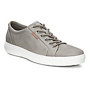 Mens Ecco Soft 7 Perf Tie Casual Shoe - Moon Rock 42