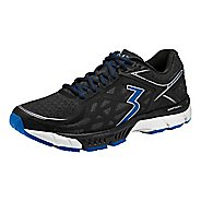 Mens 361 Degrees Spire 2 Running Shoe - Black/Nautical Blue 12.5