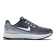 Womens Nike Air Zoom Vomero 13 Running Shoe - Carbon 11