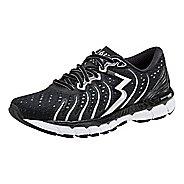 Womens 361 Degrees Stratomic Running Shoe - Black/Silver 9